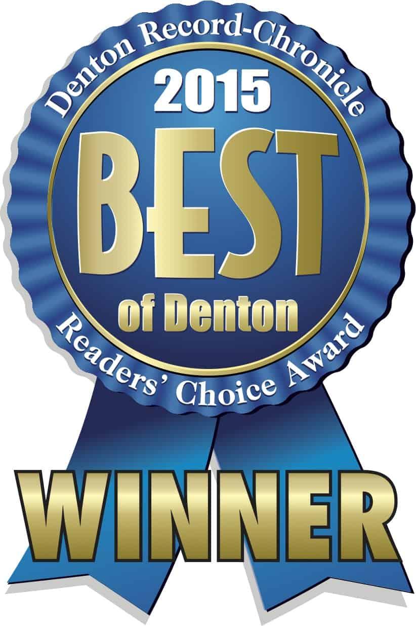 Best Dentist in Best of Denton 2015