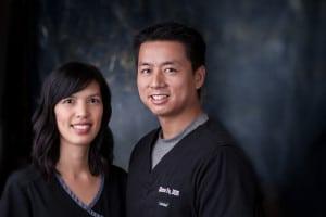 Dr. Susan Tran and Dr. Glenn Vo